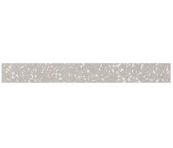 Керамогранитная мозаика бордюр Terrazzo Pearl Listello Lapp лаппатированный  Atlas Concorde