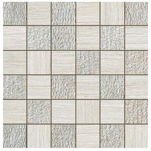 Керамогранитная мозаика Travertino White Mosaico Mix 30x30 Atlas Concorde