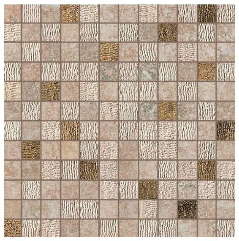 Керамогранитная мозаика Rapolano Beige Mosaico Gold 30x30 Atlas Concorde