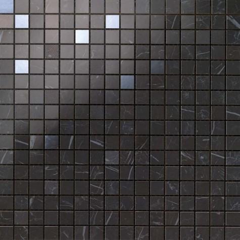 Керамогранитная мозаика Nero Marquina Mosaic Q 30.5x30.5 Atlas Concorde