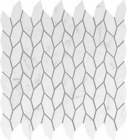 Керамогранитная мозаика Carrara Pure Twist 30.5x30.5 Atlas Concorde