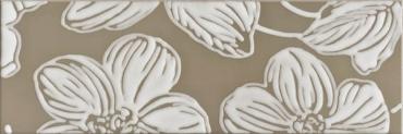 Декор DEC ANYA FLOWER BROWN Domino