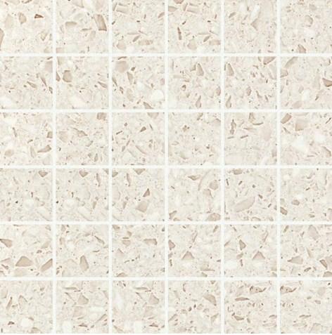 Керамогранитная мозаика Terrazzo Cream Mosaico Lappato Лаппатированная 30.5x30.5 Atlas Concorde