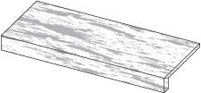 Спецэлемент ДЛЯ УЛИЦЫ MARVEL STONE CLAUZETTO WHITE ELEMENTO L STR. 60X15XH4 Atlas Concorde