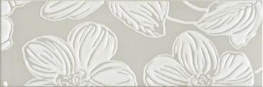 Декор DEC ANYA FLOWER GREY Domino