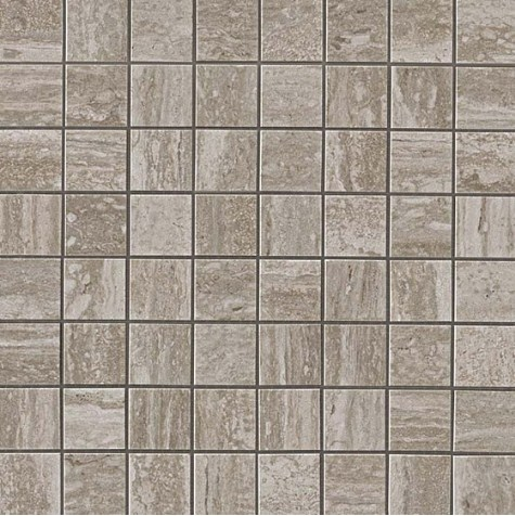 Керамогранитная мозаика Travertino Silver Mosaico Matt Матовая 30x30 Atlas Concorde