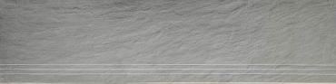 "Ступень СВЕТЛО-серый ""ПОД СЛАНЕЦ"" СТРУКТУР.30Х120Х13,5+Подступенок 15Х120Х13.5 DongPeng (Китай)"