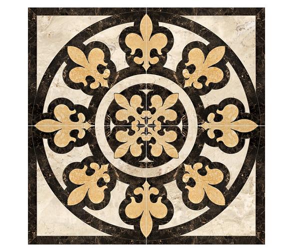Декоративный элемент (Керамогранит) PERONDA MUSEUM CHAPEL-ABBEY-DOM Панно ROS. LILLY/P