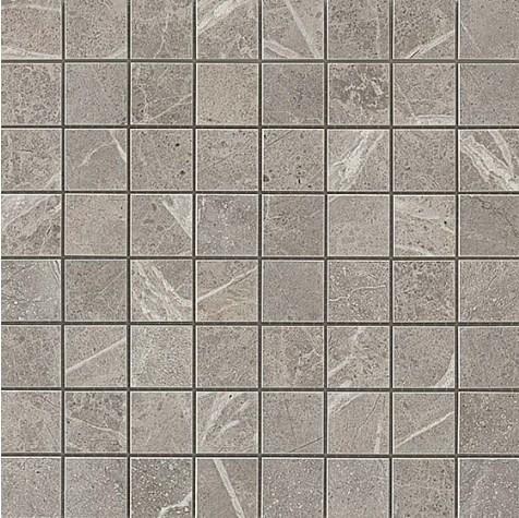 Керамогранитная мозаика Grey Fleury Mosaico Matt Матовая 30x30 Atlas Concorde