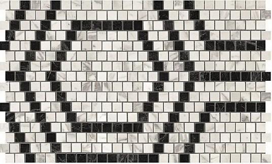 Керамогранитная мозаика Mosaico Honeycomb Cold Lappato 30x49 Atlas Concorde