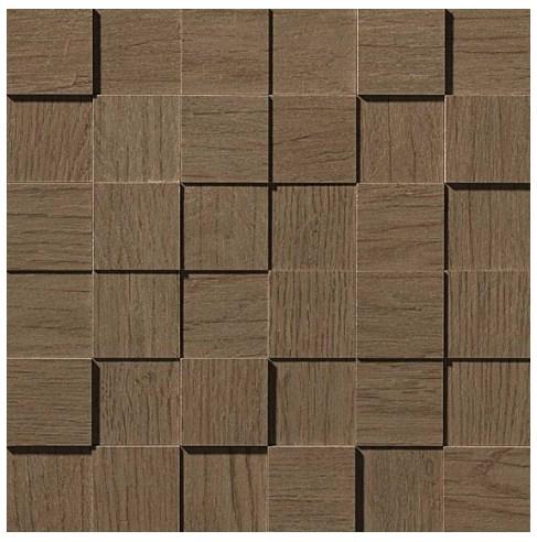 Керамогранитная мозаика Cinnamon Mosaico Square 3D (Для стен)  Atlas Concorde