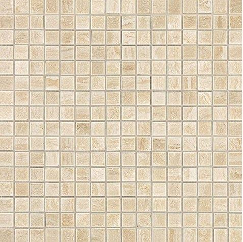 Керамогранитная мозаика Travertino Alabastrino Mosaico Lappato Полуполированная 30x30 Atlas Concorde