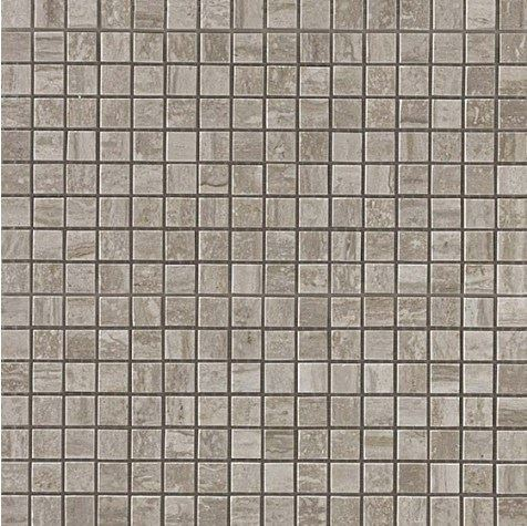 Керамогранитная мозаика Travertino Silver Mosaico Lappato Полуполированная 30x30 Atlas Concorde