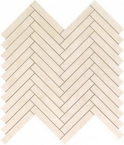 Керамогранитная мозаика Cream Prestige Herringbone Wall 30.5x30.5 Atlas Concorde
