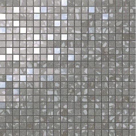 Керамогранитная мозаика Terrazzo Grey Micromosaico 30.5x30.5 Atlas Concorde