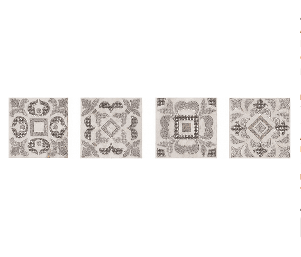 Декоративный элемент (Керамогранит) PERONDA MUSEUM GREVIN-ORSAY-POMPIDOU Вставка T. ORSAY-H/P