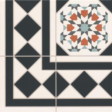 Напольная плитка OXFORD DECO ESQUINA Realonda Ceramica (Испания)