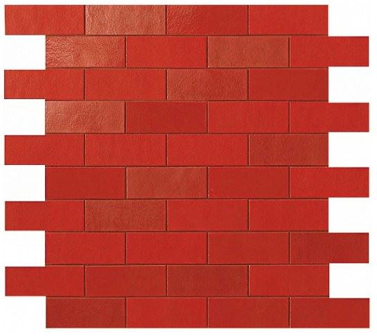 Керамогранитная мозаика Red Minibrick 30x30.5 Atlas Concorde