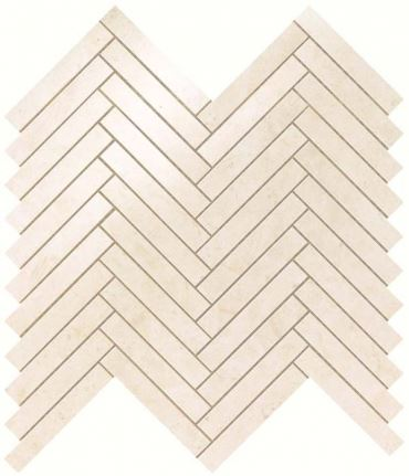 Мозаика НАСТЕННАЯ MARVEL STONE CREAM PRESTIGE HERRINGBONE WALL Atlas Concorde (Италия)