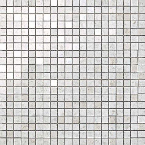 Керамогранитная мозаика Terrazzo White Micromosaico 30.5x30.5 Atlas Concorde