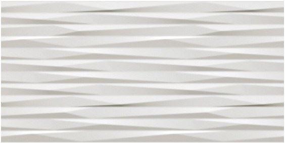 Керамическая плитка 3D Blade White Matt 50x110 Atlas Concorde