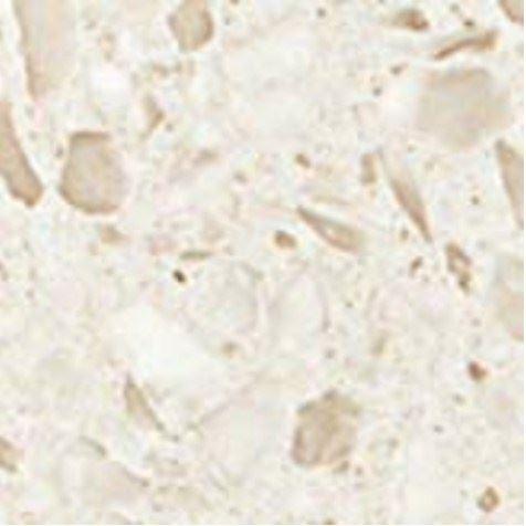 Керамогранитная мозаика Вставка Terrazzo Cream Angolo Lapp Лаппатированная  Atlas Concorde