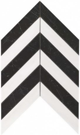 Керамогранитная мозаика Chevron Warm Wall 25x30.5 Atlas Concorde
