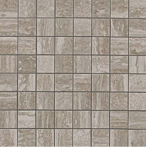 Керамогранитная мозаика Travertino Silver Mosaico Matt Матовая 30x30 Atlas Concorde (Италия)