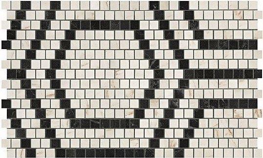 Керамогранитная мозаика Mosaico Honeycomb Warm Lappato 30x49 Atlas Concorde