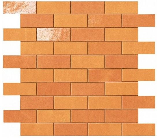 Керамогранитная мозаика Orange Minibrick 30x30.5 Atlas Concorde