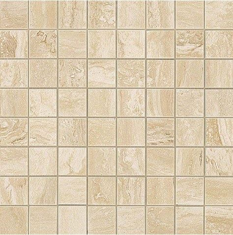 Керамогранитная мозаика Travertino Alabastrino Mosaico Matt Матовая 30x30 Atlas Concorde