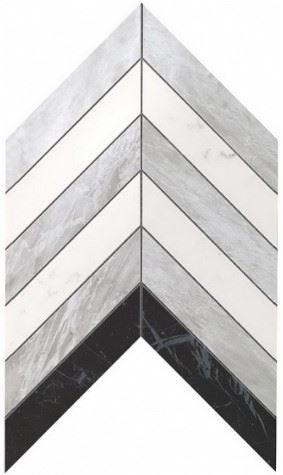 Керамогранитная мозаика Chevron Mix Wall 25x30.5 Atlas Concorde