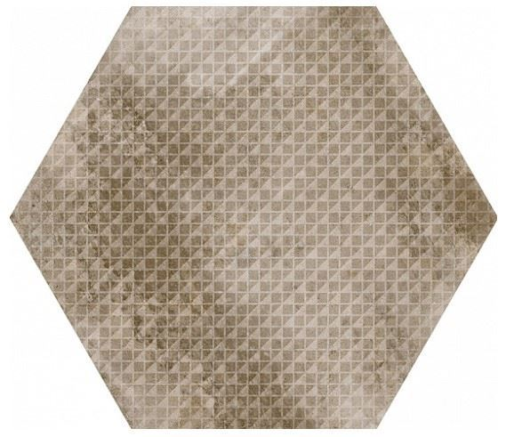 Керамогранит EQUIPE URBAN Hexagon Melange Nut (12 вариантов паттерна)