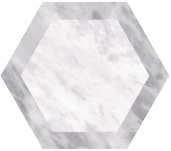 Напольная плитка / Керамогранит EQUIPE BARDIGLIO Hexagon Decor Geo (несколько вариантов паттерна)