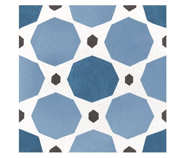 Керамогранит EQUIPE CAPRICE DECO Deco Sapphire Colours