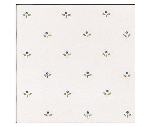 Керамическая плитка для стен ADEX MODERNISTA Decorado Mimosa PB Azul C/C B