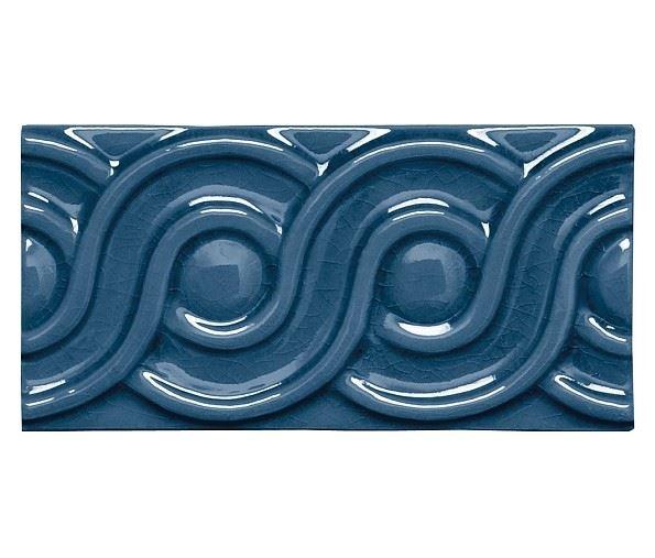 Бордюры ADEX MODERNISTA Relieve Clasico C/C Azul Oscuro