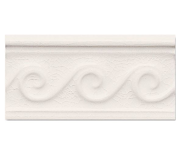 Бордюры ADEX MODERNISTA Relieve Olas C/C Blanco