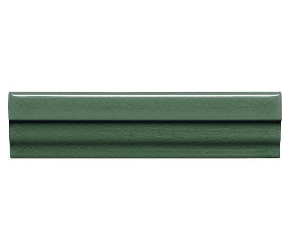 Бордюры ADEX MODERNISTA Cornisa Clasica C/C Verde Oscuro