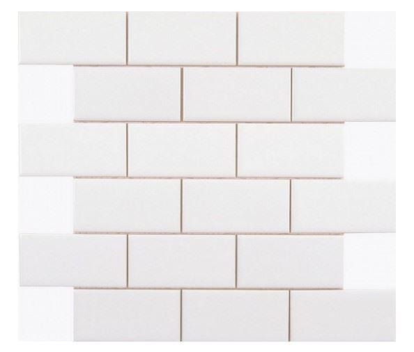 Декоративные элементы ADEX NERI Liso PB Blanco Z (5х10) Enmallado