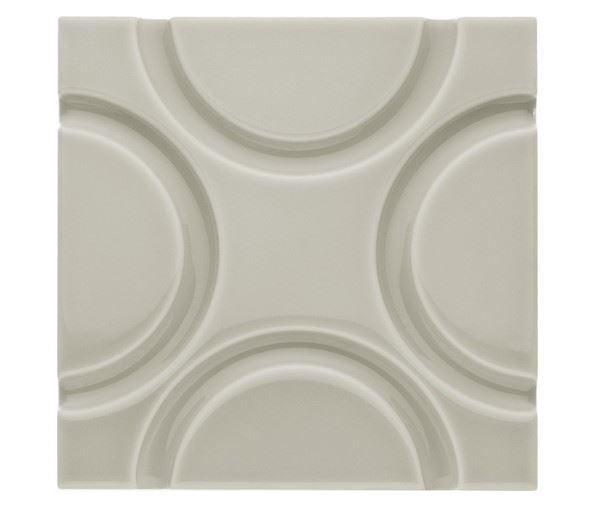Декоративные элементы ADEX NERI Relieve Geo Silver Mist