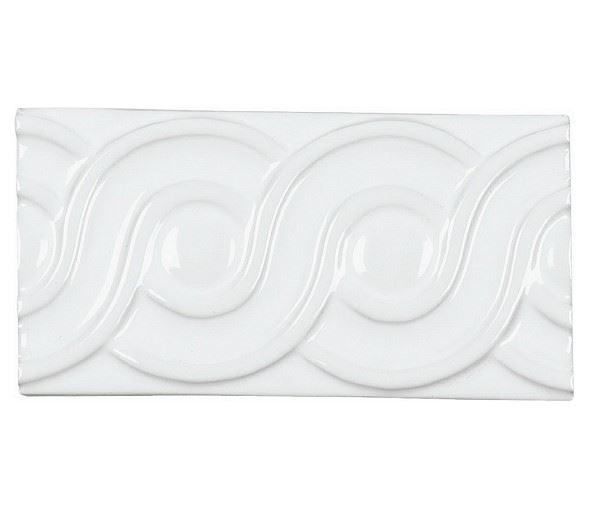 Бордюры ADEX NERI Relieve Clasico Blanco Z