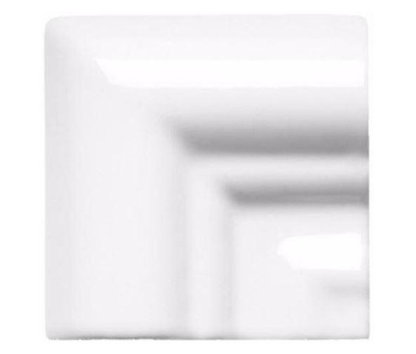 Специальные элементы ADEX NERI Угловая вставка Angulo Marco Moldura Italiana PB Blanco Z