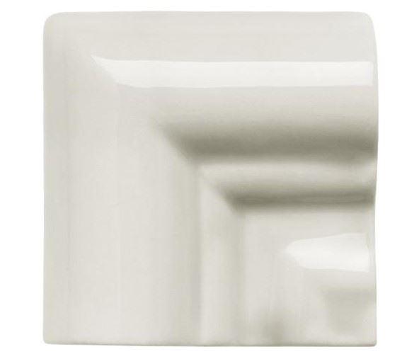 Специальные элементы ADEX NERI Угловая вставка Angulo Marco Moldura Italiana PB Silver Mist