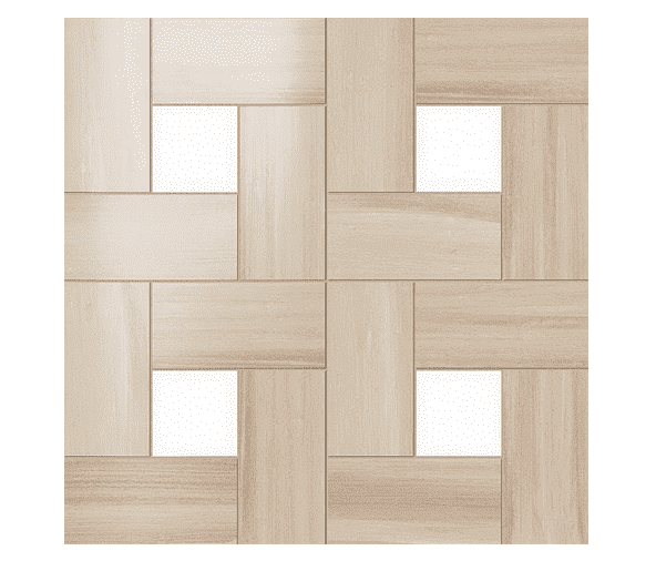 Декоративные элементы для пола ATLAS CONCORDE RUSSIA ASTON WOOD / АСТОН ВУД Bamboo Mosaic Lap / Бамбу Мозаика Лаппато