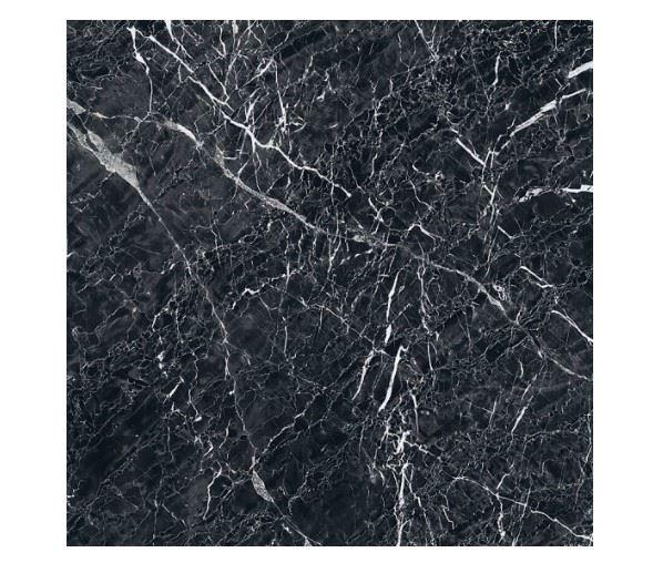 Напольная плитка / Керамогранит KERRANOVA / КЕРРАНОВА BLACK & WHITE Черный / Black лаппатированный