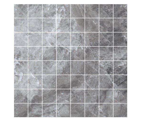 Мозаика /Керамогранит/ KERRANOVA / КЕРРАНОВА BLACK & WHITE Мозаика Grey / Серая лаппатированная