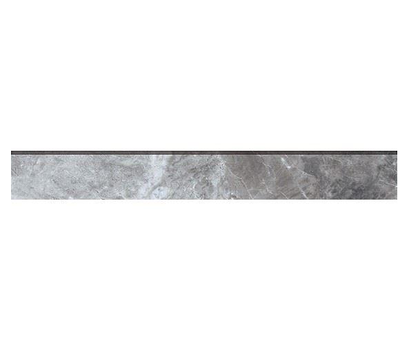 Плинтус KERRANOVA / КЕРРАНОВА BLACK & WHITE Плинтус Grey / Серый лаппатированный