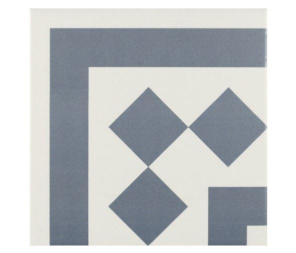 Декоративные элементы для пола CERAMICA RIBESALBES ANTIGUA Azul 001
