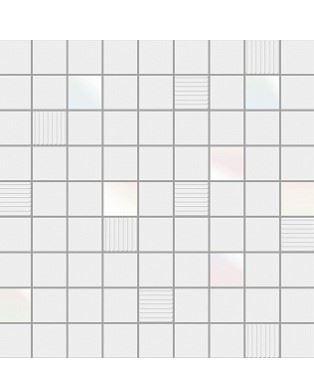 Mosaico Cubic White